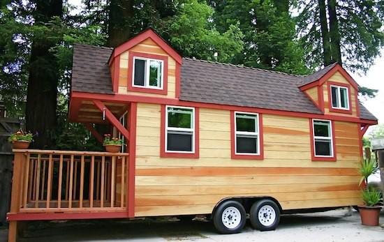 HomeRefreshing - Casa di lusso su ruote con balcone