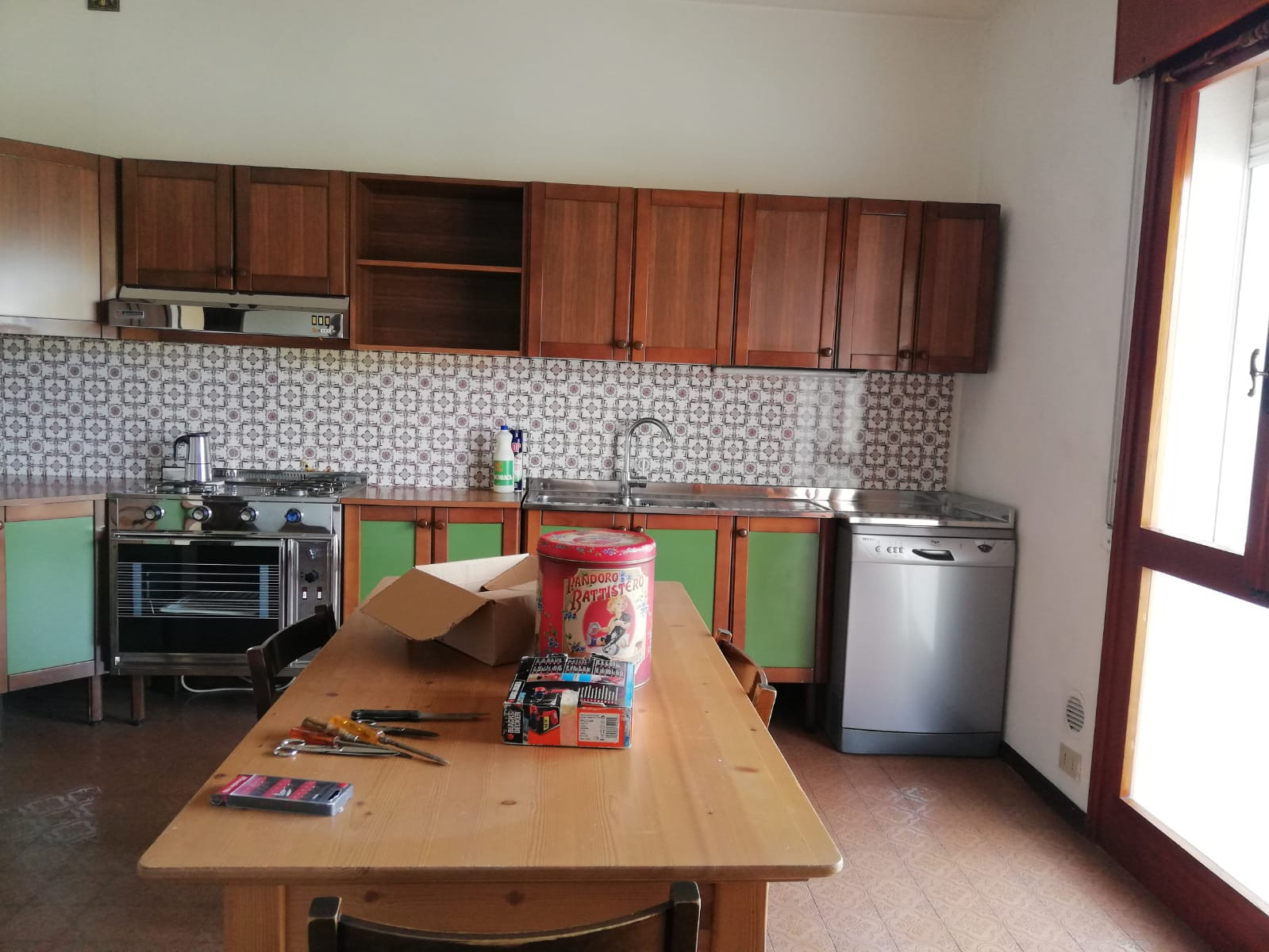 Appartamento senza home staging