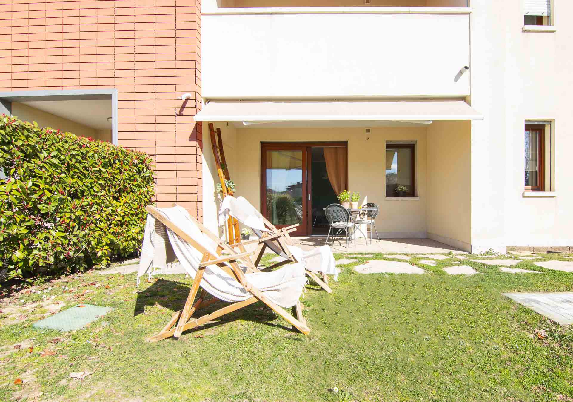 Appartamento con giardino a Vittorio Veneto